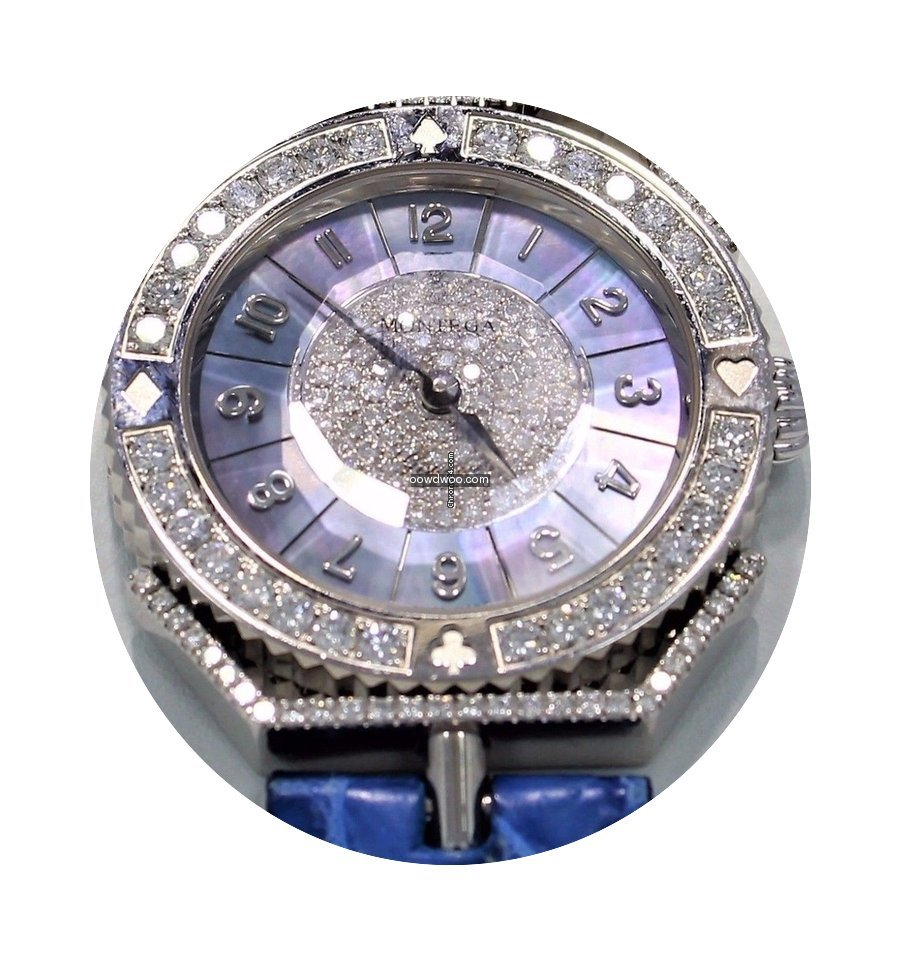Montega 18k White Gold Factory Diamond B...