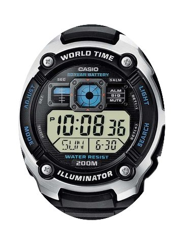 Casio AE-2000W-1AVEF Collection Herren 4...