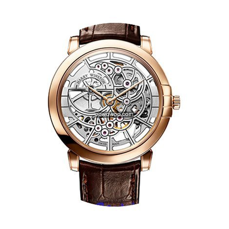 Harry Winston Midnight Skeleton MIDAHM42...