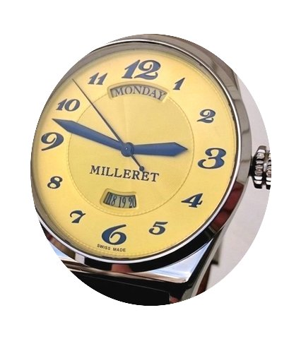 Milleret XXL Automatic Day/Date 46mm Ske...