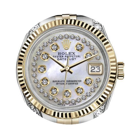 Rolex Woman's Rolex 26mm Datejust 2 Tone...
