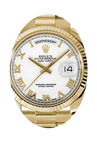 Rolex Day-Date 36 118238-WHTRFP White Ro...
