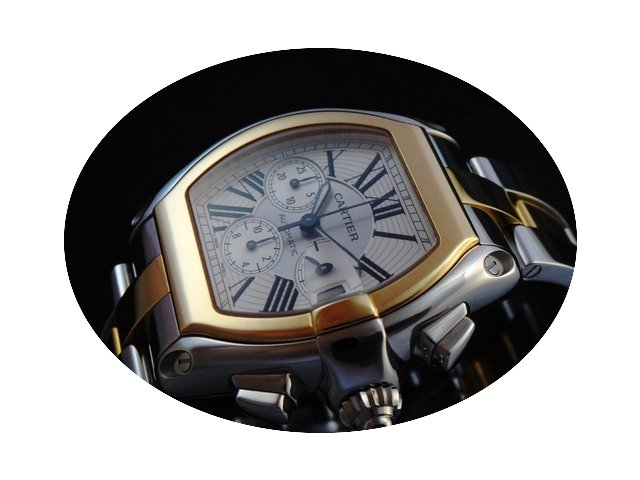 Cartier Roadster Chronograph Steel &...