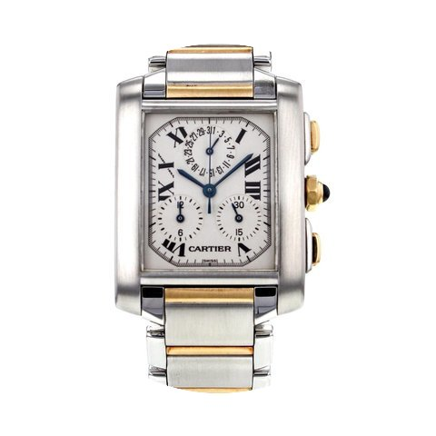 Cartier Tank Francaise Chronograph Steel...
