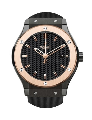 Hublot CLASSIC FUSION 42MM CERAMIC/GOLD ...