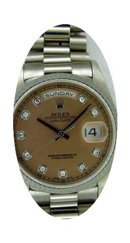 Rolex Mens President Day-Date Watch With...