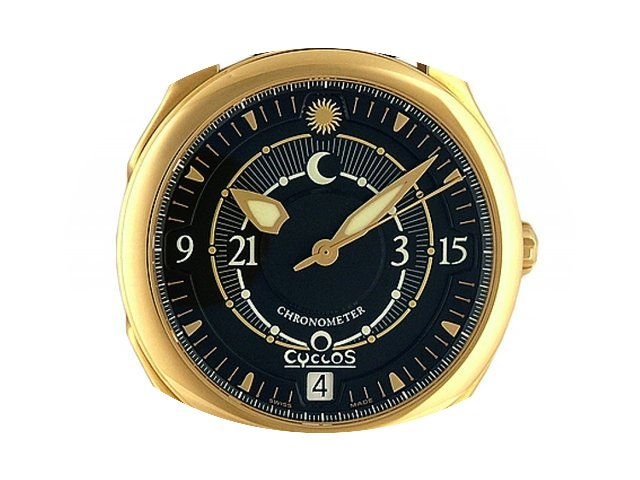 Cyclos Watch Day&Night Parity 18kt G...