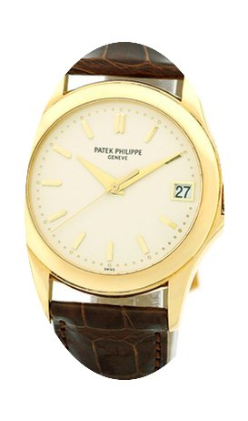 Patek Philippe Gent's 18K Yellow Gold Re...