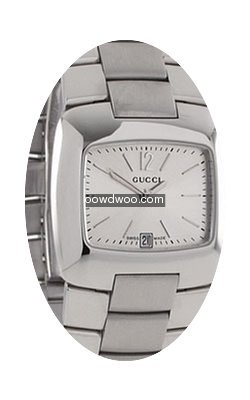 Gucci 8500 Series Ladies Silver Dial Swi...