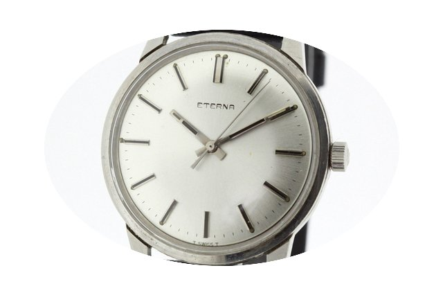 Eterna Stainless Steel Men's Vintage Wat...