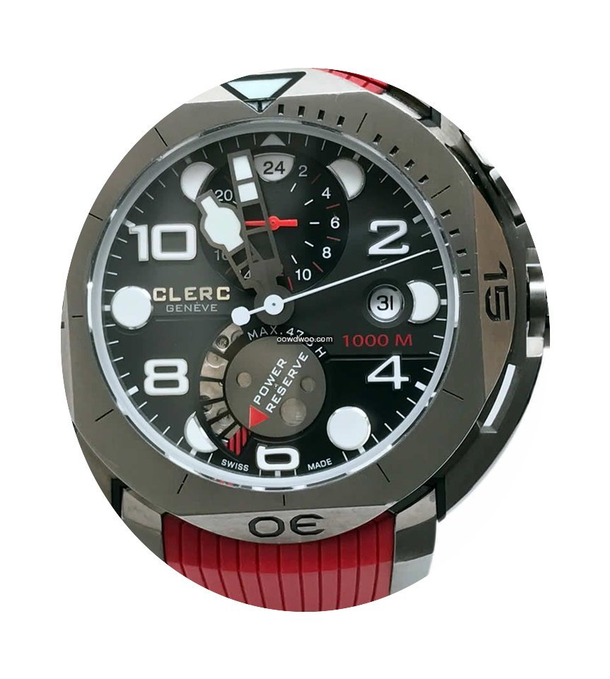 Clerc Hydroscaph Power Reserve 1000M...