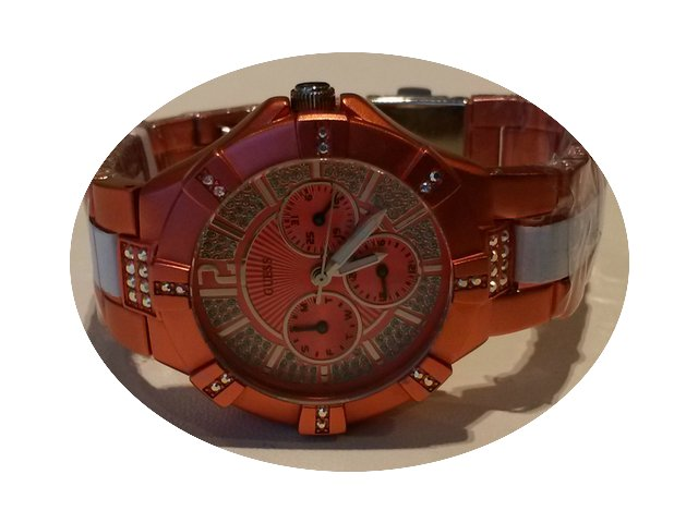 Guess VISTA Chronograph Ladies' Orange W...