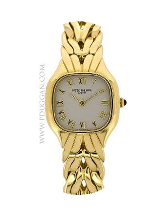 Patek Philippe 18k yellow gold ladies La...