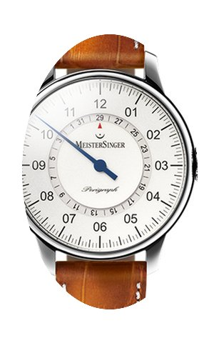 Meistersinger Perigraph - 43mm - Silver ...