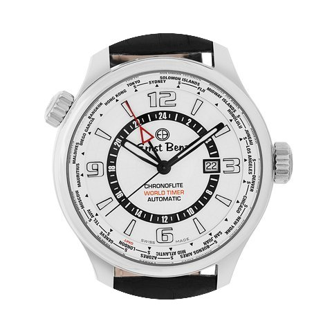 Ernst Benz Chronoflite World Timer GC108...