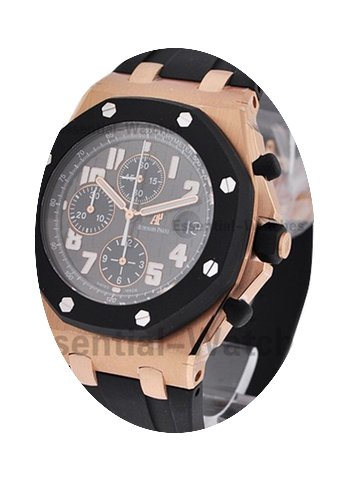 Audemars Piguet Pink Gold Offshore Rubbe...