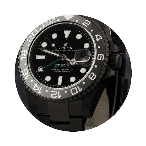 Pro-Hunter Ceramic GMT MK2, GREEN...