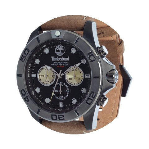 Timberland Watches Northfield Men's Blac...