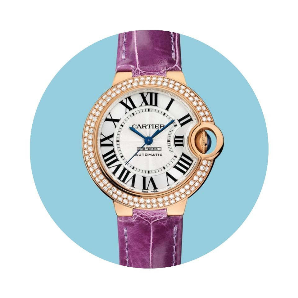 Cartier BALLON BLEU DE CARTIER 33 mm Rot...