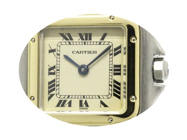 Cartier Panthere 18k Gold Steel Quartz L...