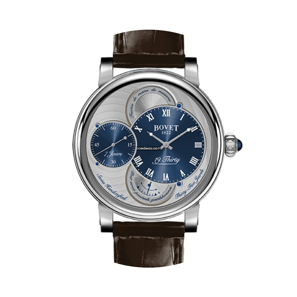 Bovet 19Thirty Dimier Stainless Steel...