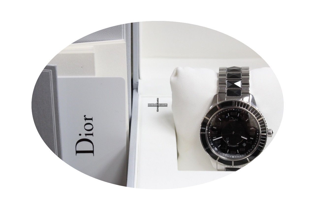 Dior Christal Cd115510 Stainless 42mm Bl...