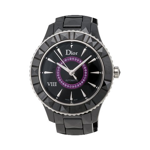Dior VIII Black Ceramic and Stainless St...