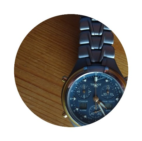 Tissot Titanium Analog/Digital Chrono...