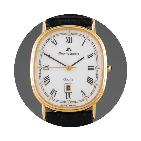 Maurice Lacroix 18K Solid Yellow Gold Qu...