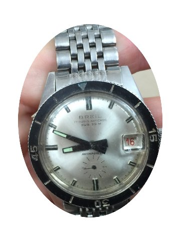 Breil 34 mm sub automatic antimagnetic 1...