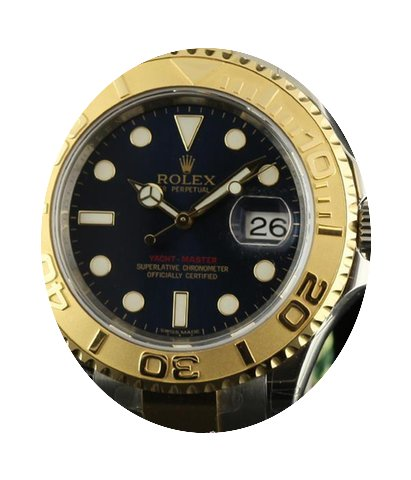 Rolex New Yacht-master 40mm 16623 Gold S...