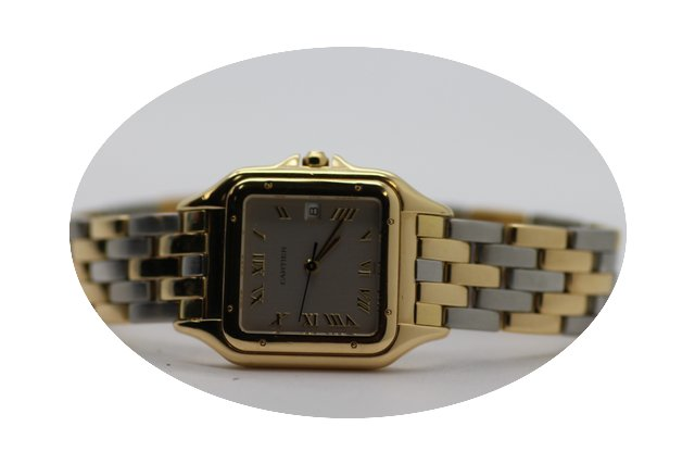 Cartier 18k Panthere 1060 2...