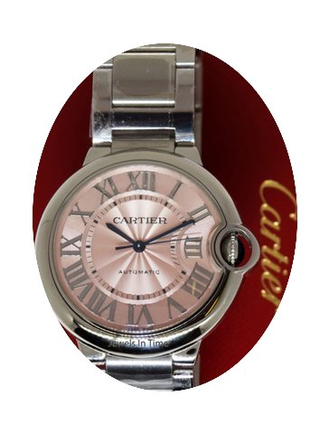 Cartier Ballon Bleu Steel Automatic 36mm...