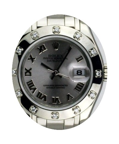 Rolex Masterpiece 18K White Gold Diamond...