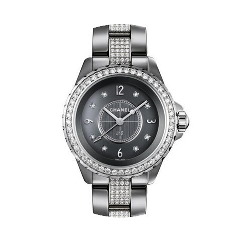 Chanel H3105 J12 Chromatic Titanium Cera...