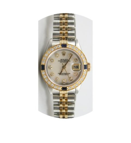 Rolex Datejust 79173 Lady's Steel and 18...