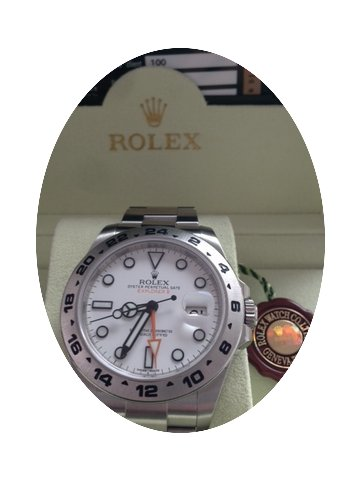 Rolex Explorer II 42 mm Ref. 216570...