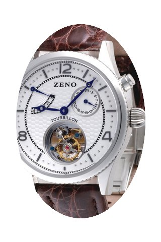 Zeno-Watch Basel Tourbillon, Power Reser...