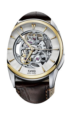 Oris Artelier Skeleton Mens Watch...
