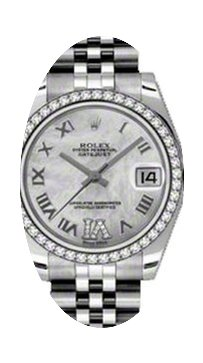 Rolex Datejust Ladies Midsize 178384-MOP...