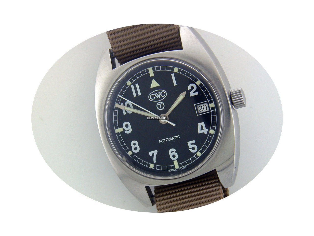 CWC Military Re-edition steel automatic ...