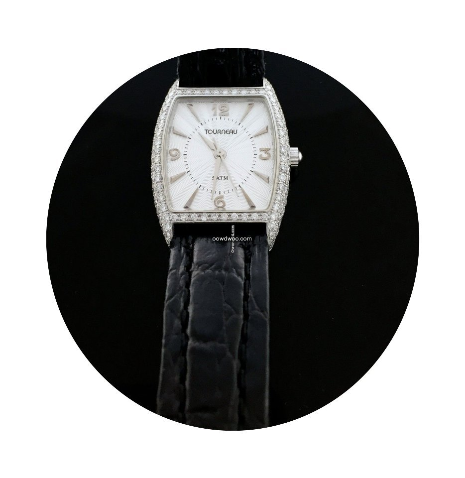 Tourneau Watch With 1.75 Cts Of Diamonds...