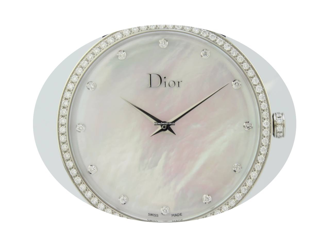 Dior La D Quartz Steel Lady CD043114-J (...
