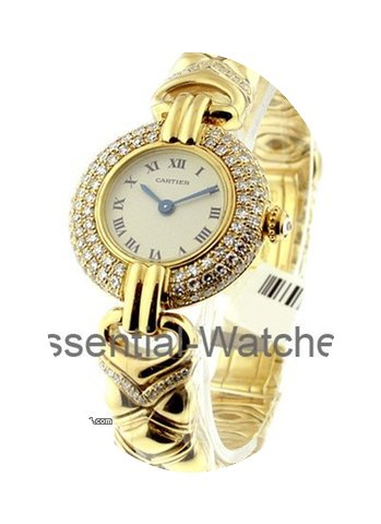 Cartier Colisee with Diamond Case...