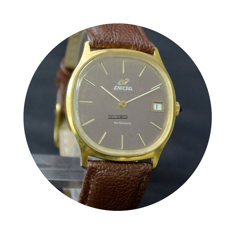 Enicar Date Automatic Cal-169...
