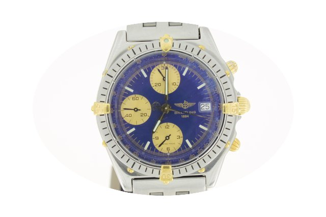 Breitling Chronomat Steel/Gold 39mm (BOX...