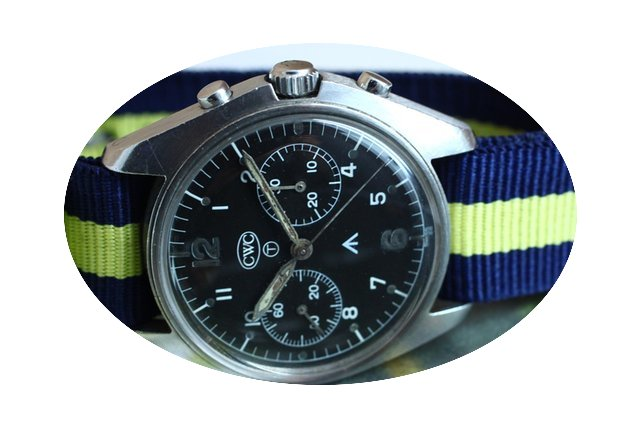 CWC Chronograph Military Manual Winding...