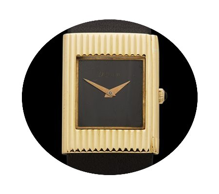 DeLaneau Vintage 18k yellow gold Ladies...
