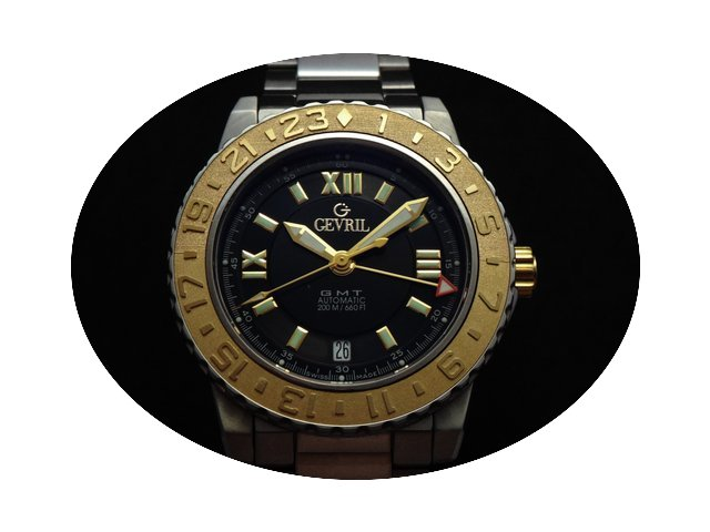 Gevril GMT Steel & Gold Limited Edit...