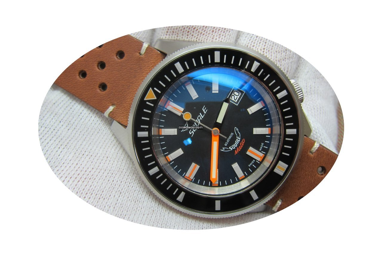 Squale SqualeMatic 600m Satin Case Black...